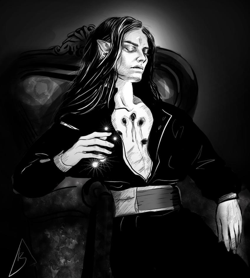 Dalamar The Dark by Kyr1e
