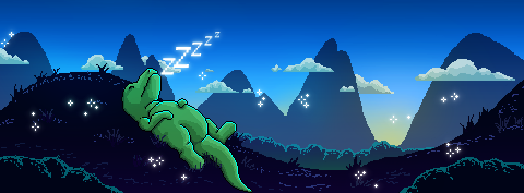 Pixely Morning by Laxifax
