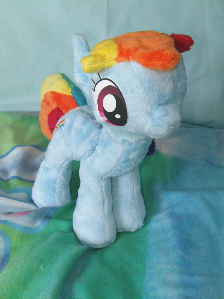 Rainbow Dash Commission 4 by DappleHeartPlush