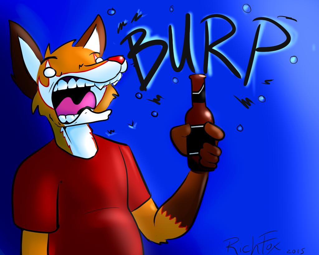 Beer Burp by RichFox