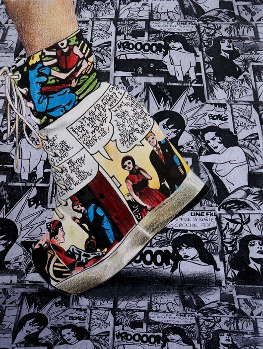 Sidewalk Comics by fashionfreedom