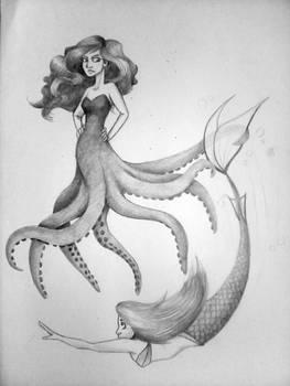 Octopus Mermaid