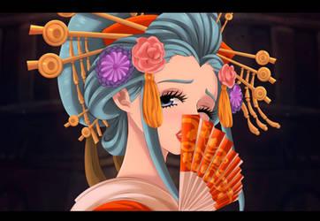 One Piece _ komurasaki _ Commission by KozureOkamixx
