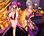 soul calibur y fate grand order _commission