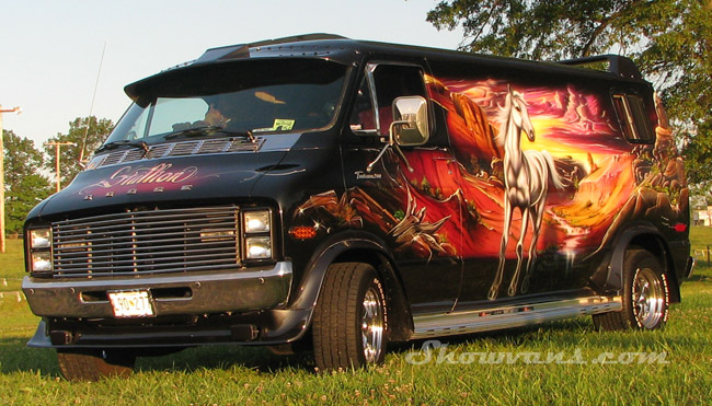 Stallionairbrushed Custom Van By Virtualvanner