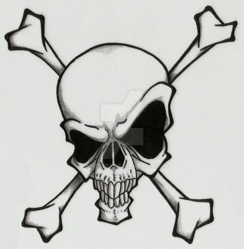 Skull and Crossbones by Ashes360 on DeviantArt