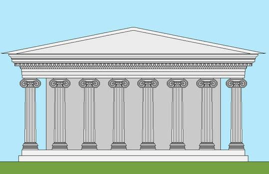 jonic temple