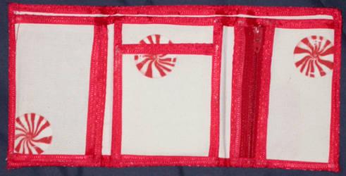 white stripes wallet II