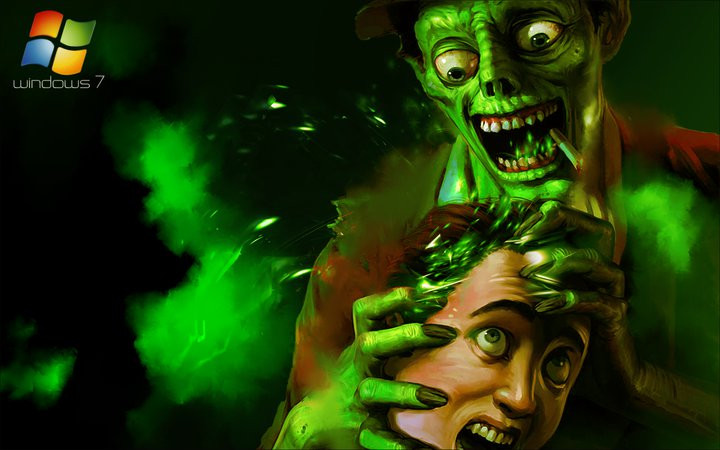 Zombie Artwork Wallpaper zombie wallpaper windo...