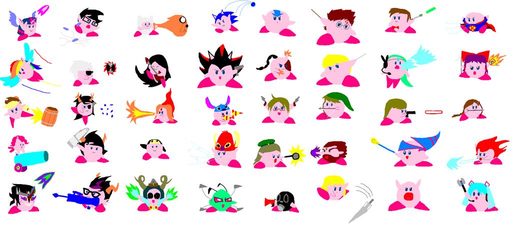 FSB: Kirby Copy Abilities by Smashfan666 on DeviantArt  FSB: Kirby Copy...