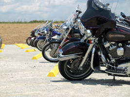 Motorcycles in Shanksville by danhauk
