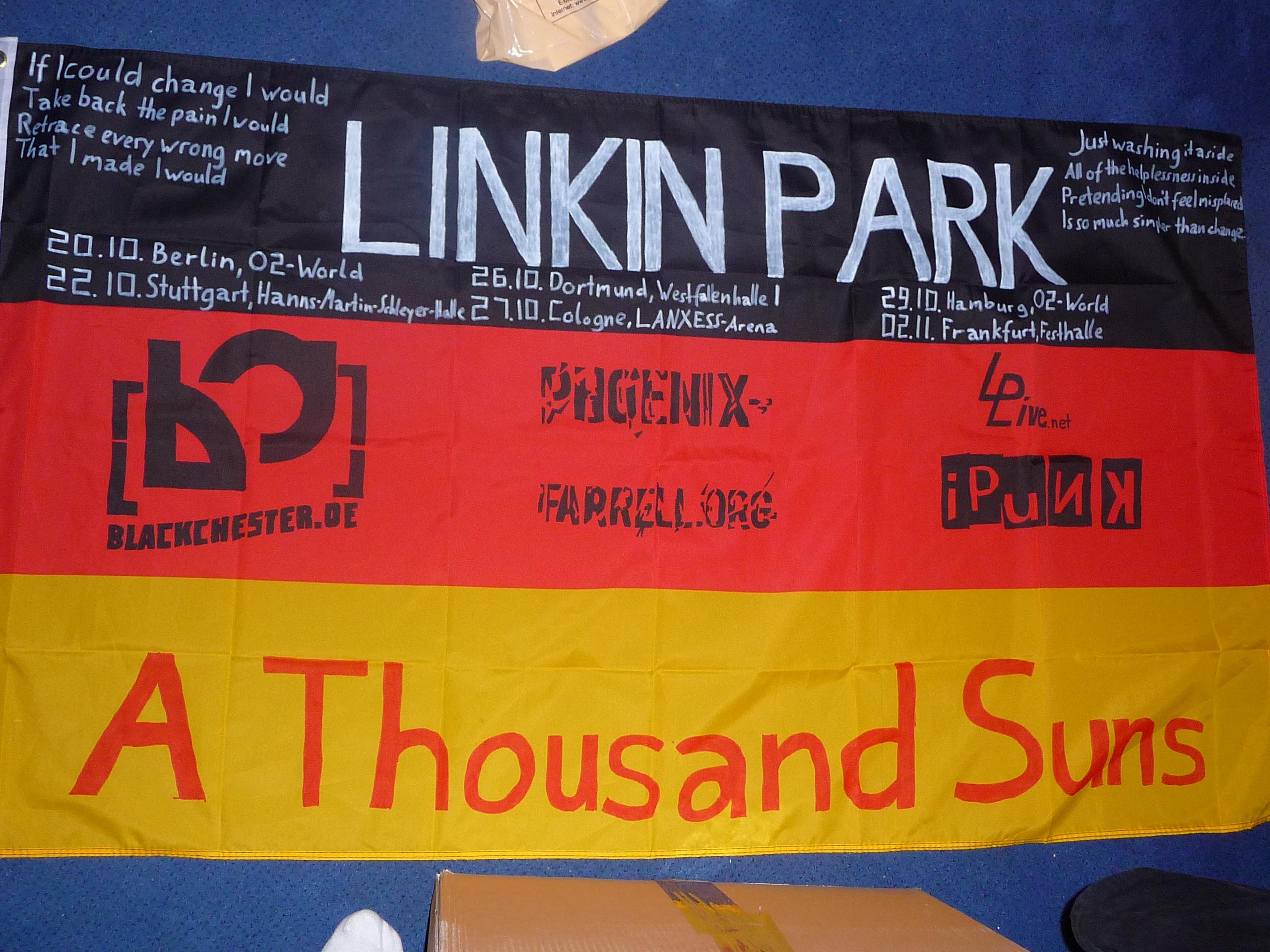 Linkin Park Flag FFM 2010 by BlackChester