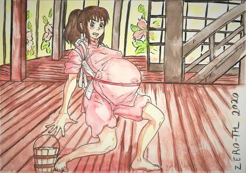 Commission~ Chihiro's future BathHouse struggles~
