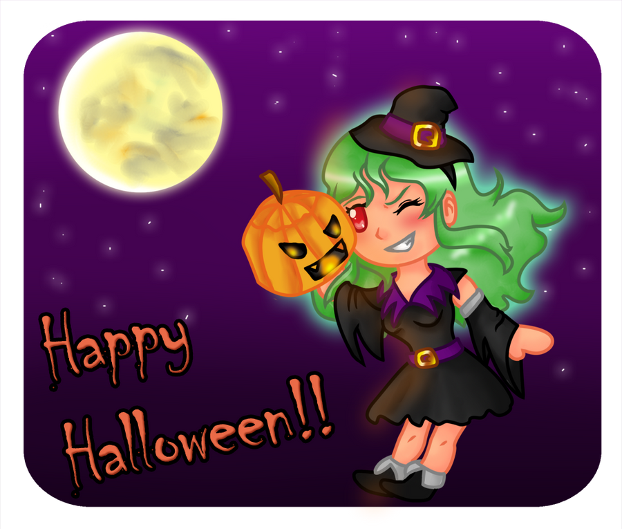 Happy Halloween 2014! by Rose-anime