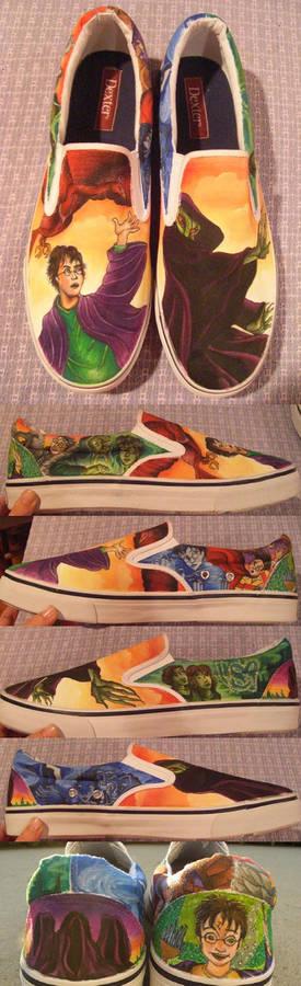 Harry Potter Custom Shoes