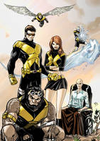 Old New X-men.... by Ruihq