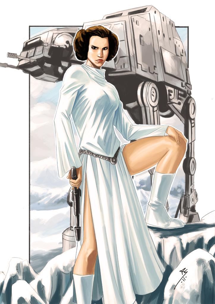 Color Leia.... by Ruihq