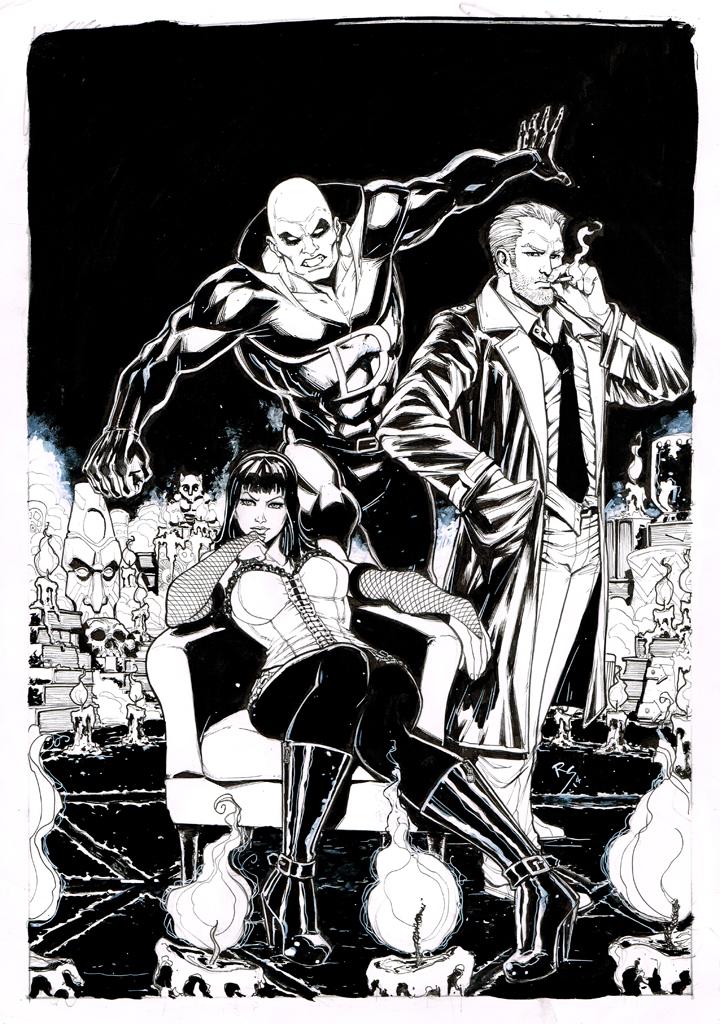 justice league dark... by Ruihq