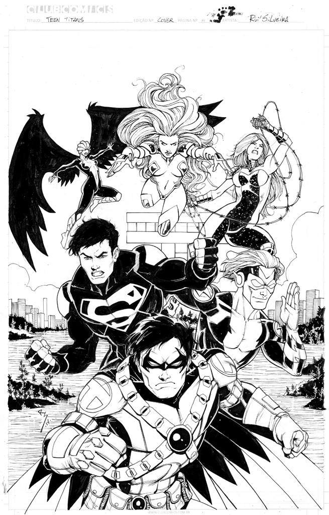 teen titans ..... by Ruihq