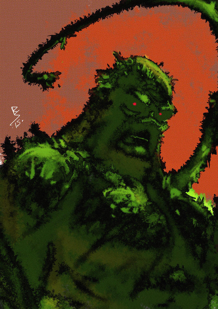 swamp thing by Ruihq