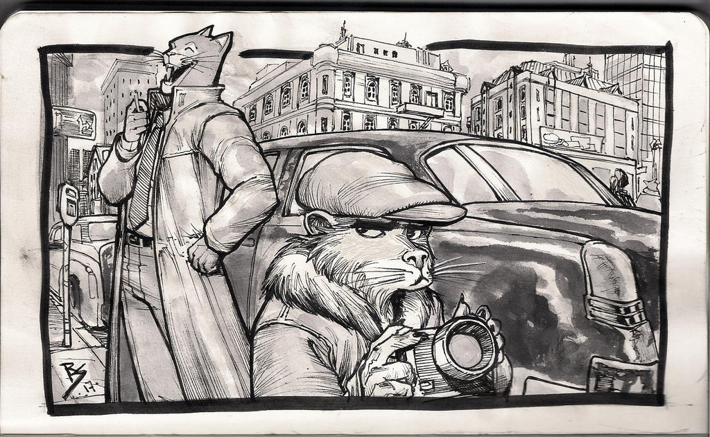 Blacksad by Ruihq
