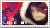Stamp: love me? by Noyomi