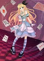 Alice in Wonderland by clayscence
