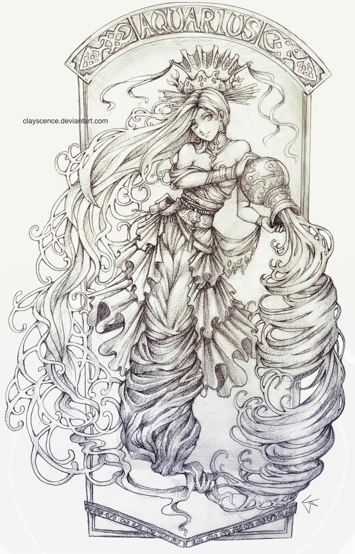 Aquarius by clayscence