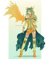 An angel in the dark: palette swap by clayscence