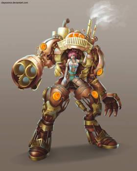 Steampunk design 2