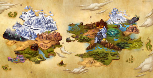Issanis and Zoltar maps by clayscence