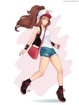 Hilda. Pokemon Go
