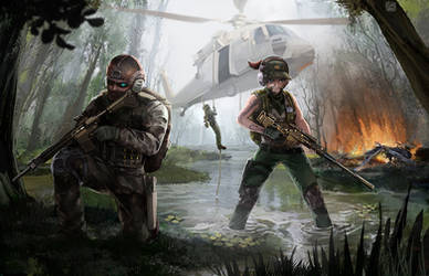 Marsh squad