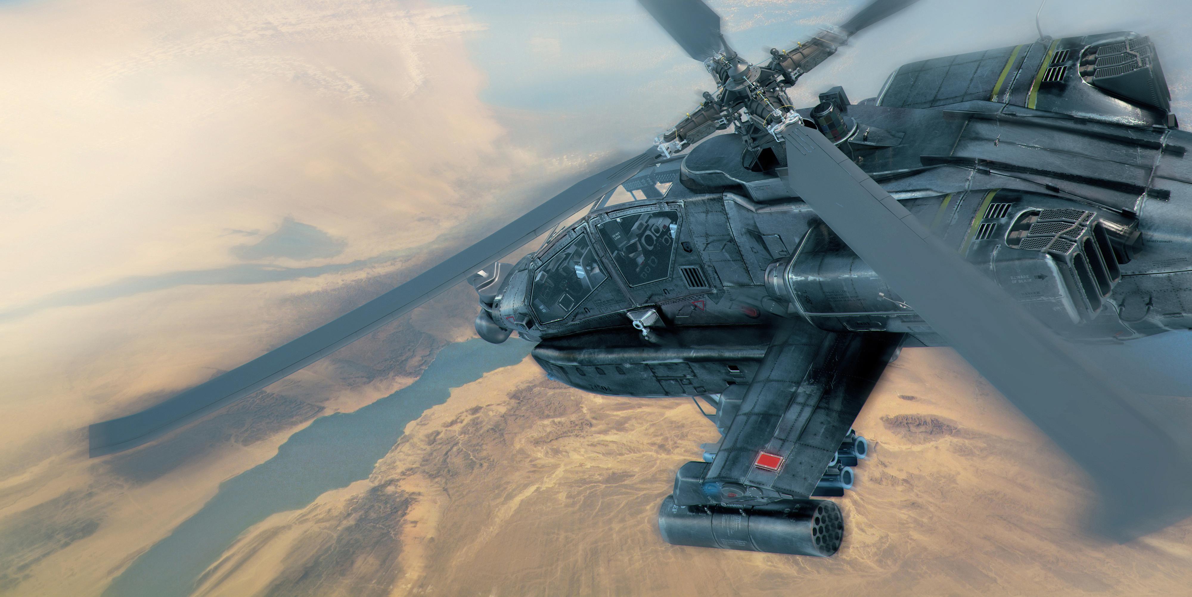 AH 64 Longbow by Packe777
