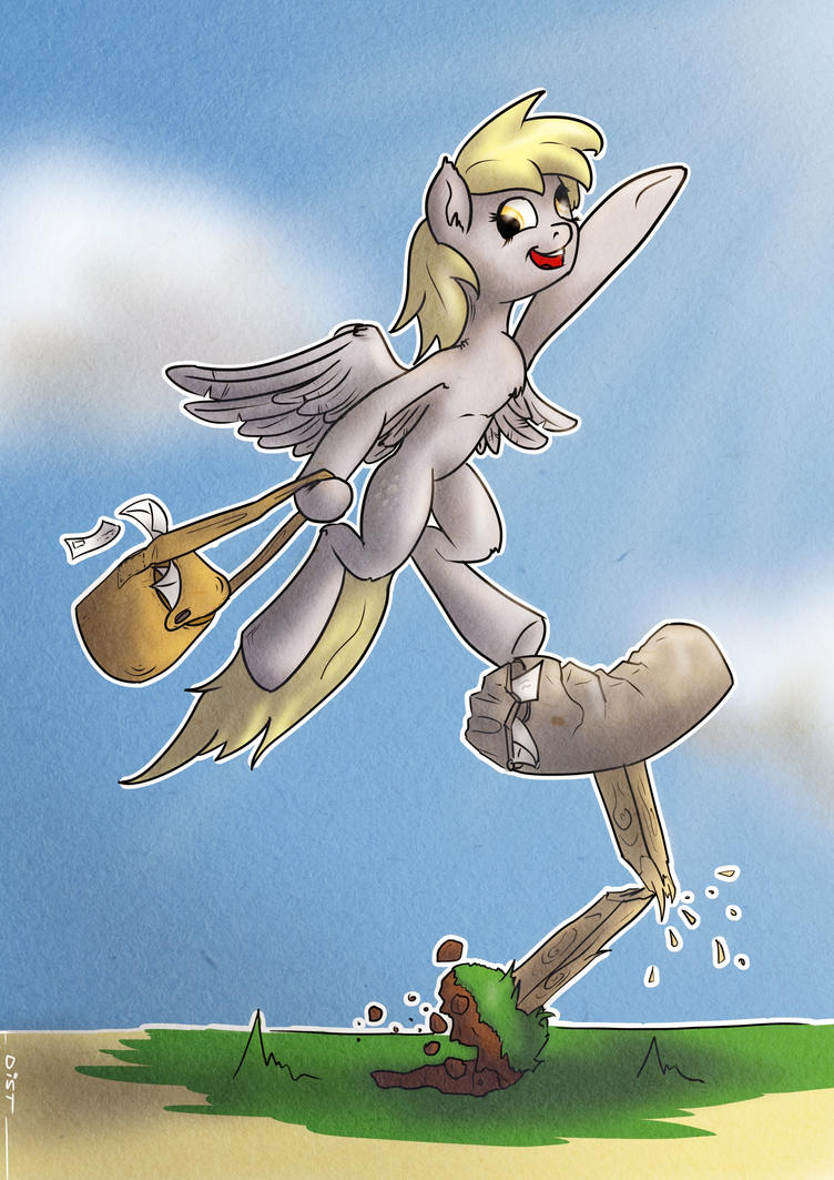 Derpy Delivers by Distoorted