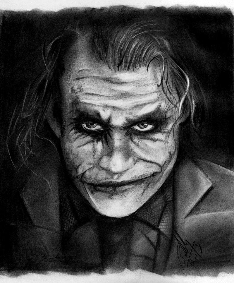 The Dark Knight - Joker by Bobby-Sandhu