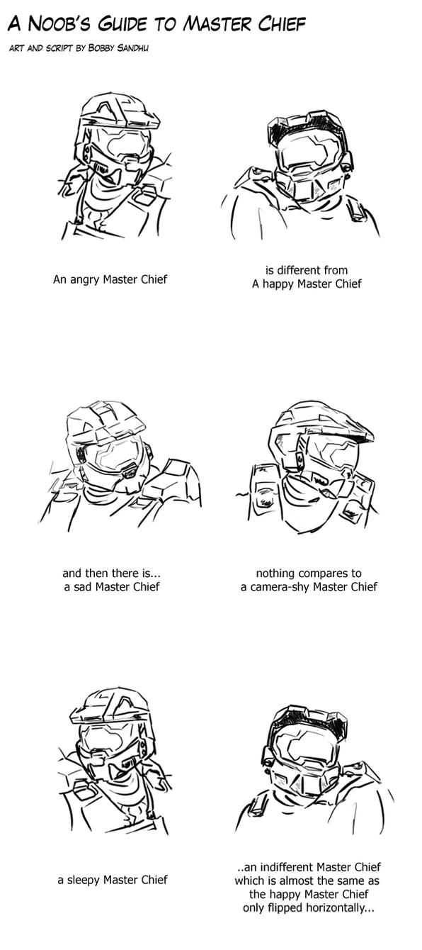 Noob's guide to Master Chief by Bobby-Sandhu