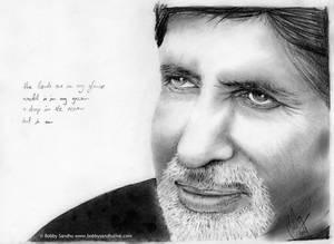 Amitabh Bachchan Pencil Portra