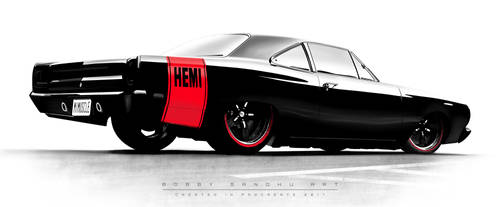 Blacktop Rollin' 69 - Plymouth Roadrunner Hemi