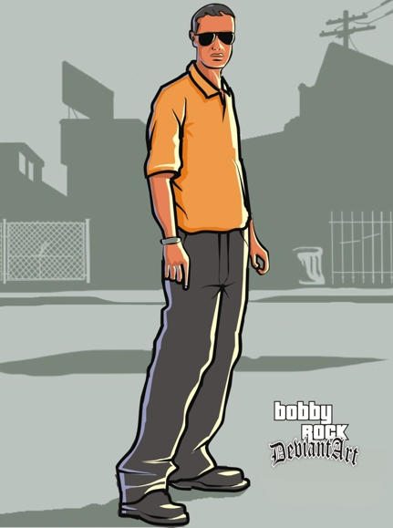 Grand Theft Auto ID by Bobby-Sandhu