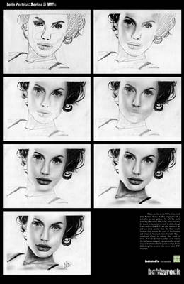 Jolie Pencil Series-II WIPs