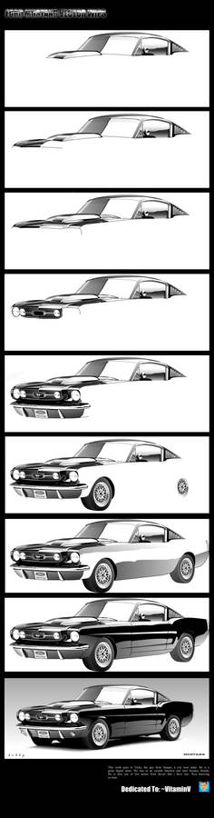 Ford Mustang Vector WIPs