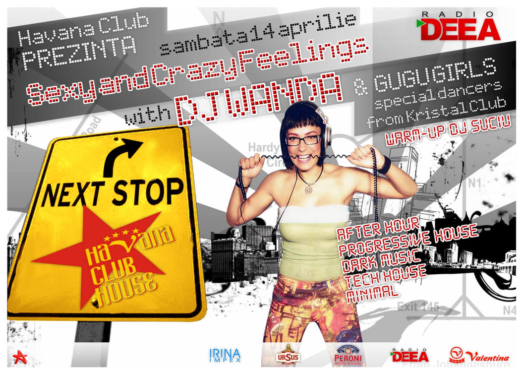 flyer DJ Wanda Havana Club by semaca2005
