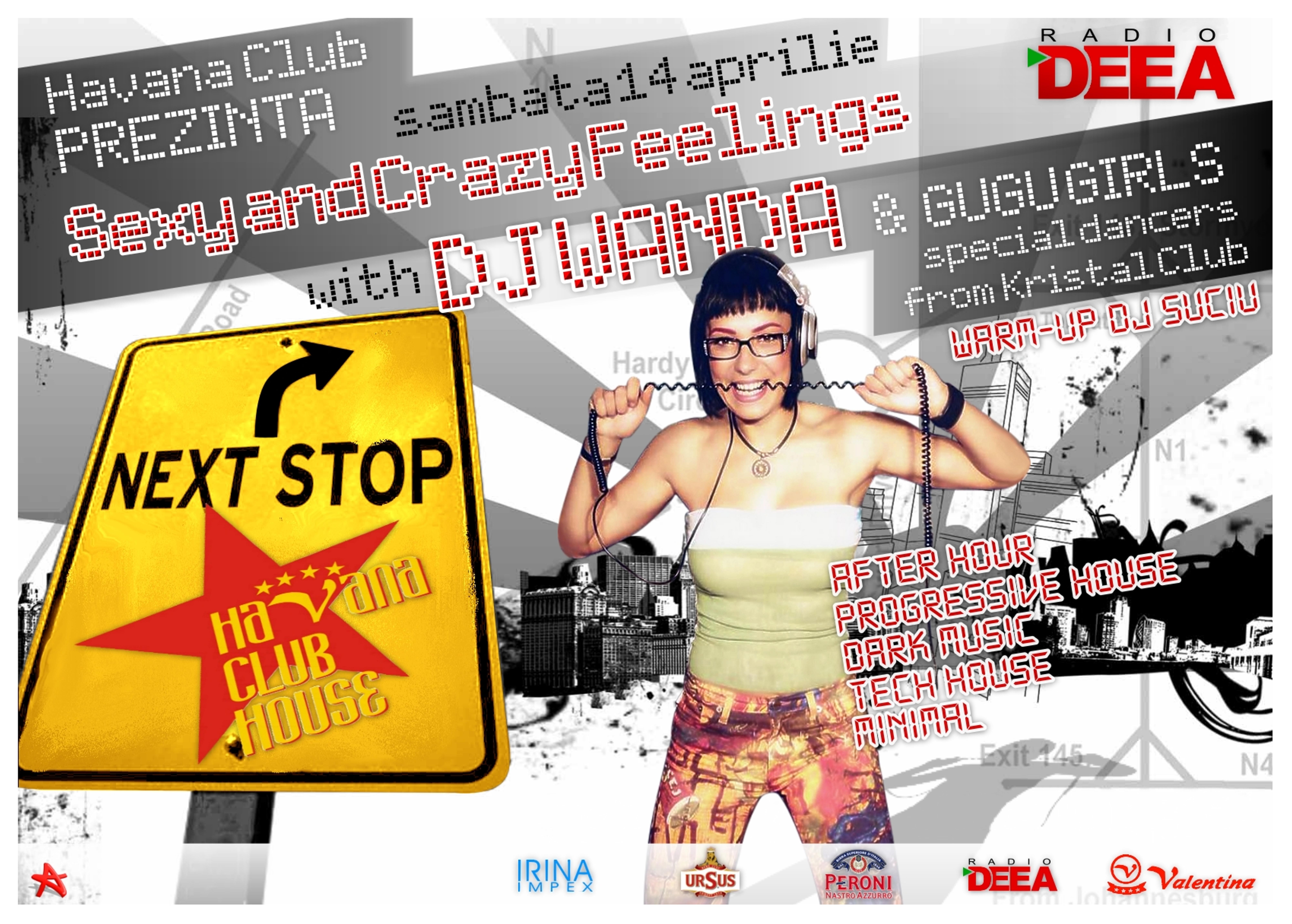 flyer DJ Wanda Havana Club by semaca2005