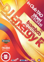 flyer ClubTAO - EnergyK by semaca2005