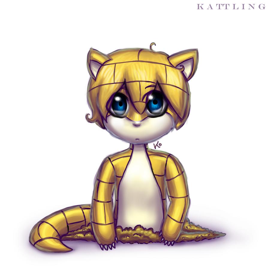 027 - Sandshrew by Kattling