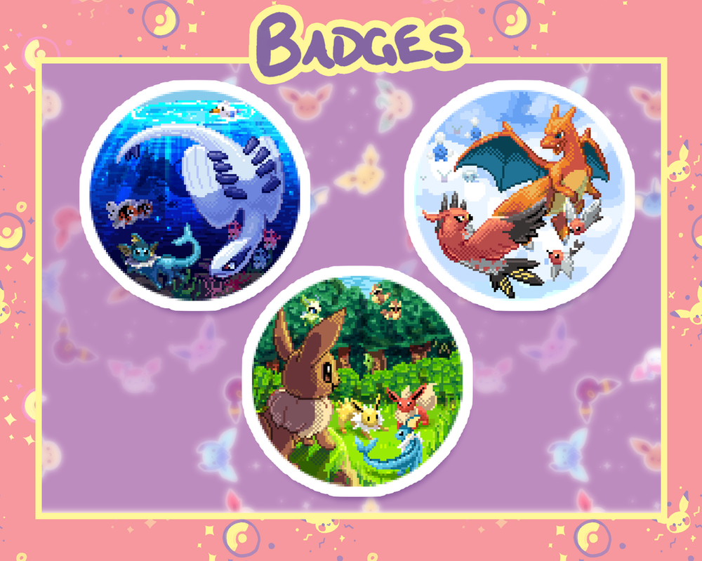 Badges by Kattling