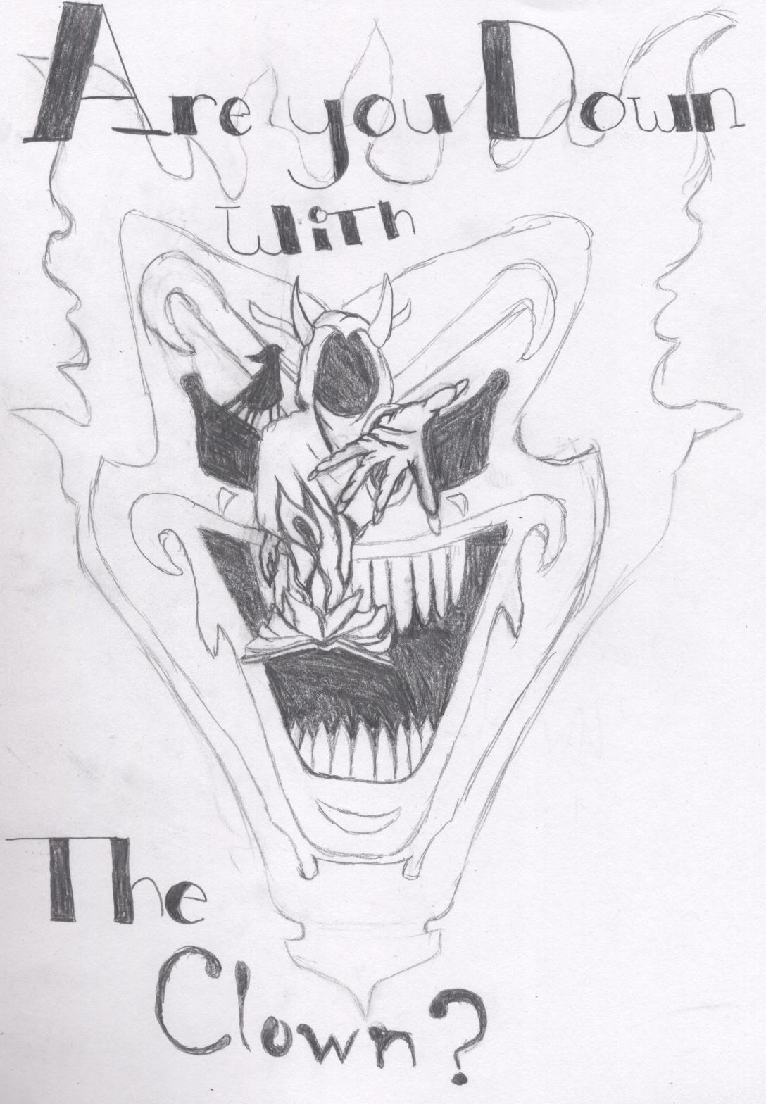 icp drawings colouring pagesIcp Joker Card Drawings