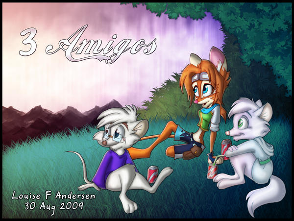 3 Amigos: Elem, Leo and Lou