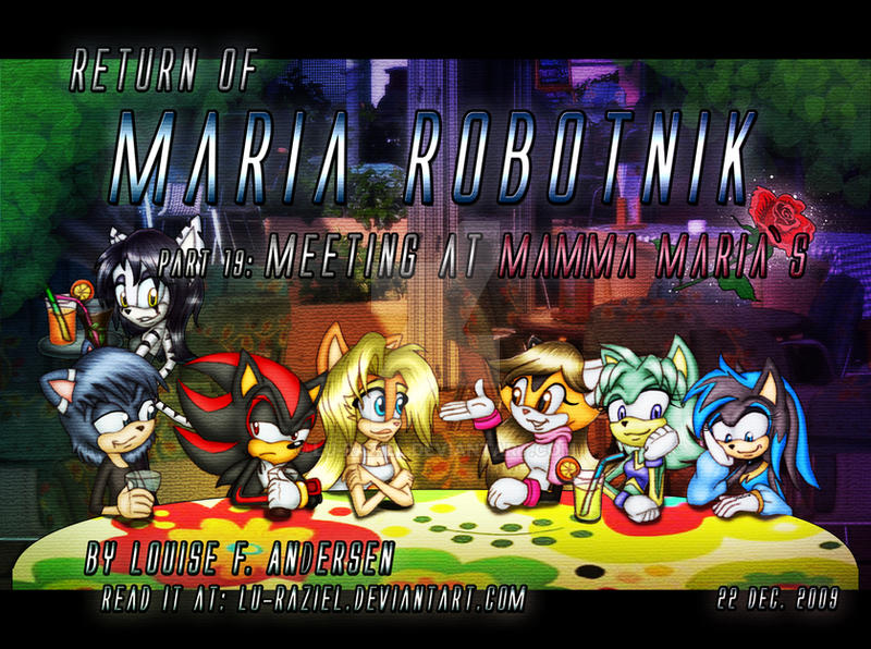 Return of Maria Robotnik 19 by lu-raziel
